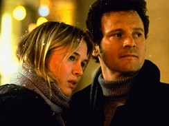 Z filmu Deník Bridget Jonesové (Renée Zellwegerová a Colin Firth)