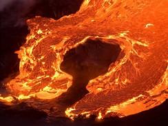 Havaj, Kilauea (snímek z listopadu 2008),