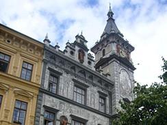 Prachatice. Nová radnice