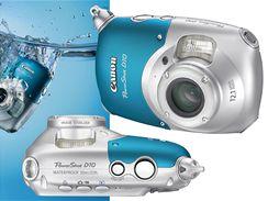 Fotoaparát Canon PowerShot D10