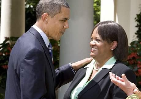 Americký prezident Barack Obama nominoval na post hlavního lékaře Reginu Benjaminovou (13. července 2009)