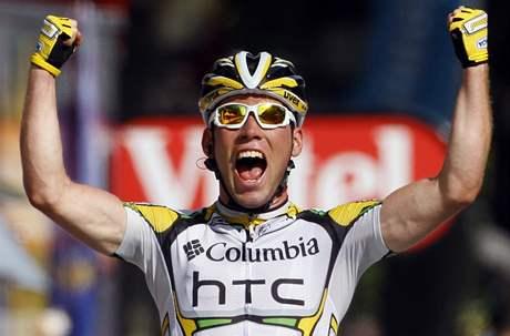 Takto se Mark Cavendish radoval na leto�n� Tour celkem �estkr�t