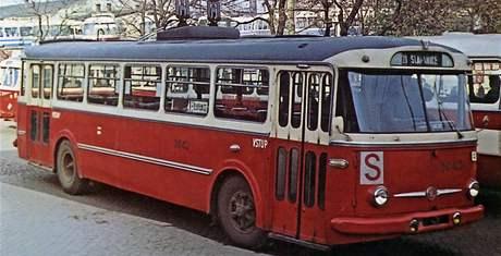 Historické trolejbusy v Brně