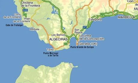 Mapa - Gibraltar