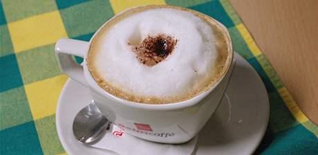 kavárna Smile - cappuccino