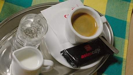 kavárna Smile - espresso