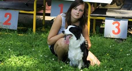 Veronika Vargová z Hodonína je mistryní Evropy se psem Texim v soutěži agility