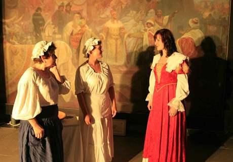 Oživlé obrazy: Slovanská epopej v Moravském Krumlově