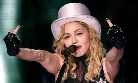 Madonna během turné  Sticky and Sweet