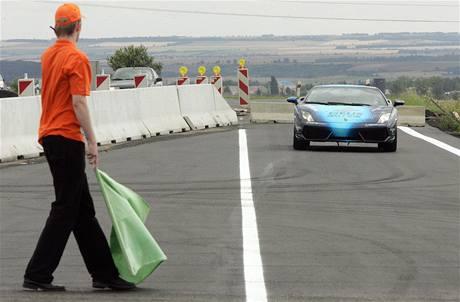 Lamborghini Gallardo LP560 při rychlostním rekordu