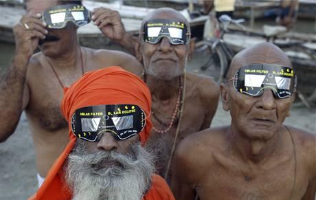 Zatmění Slunce v Indii (22. července 2009)