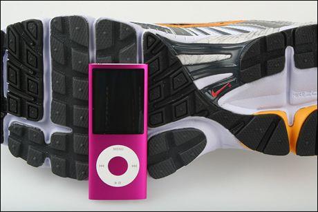 Nike+ boty a iPod nano