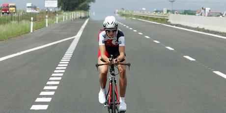Martina Sáblíková při překonání rychlostního rekordu