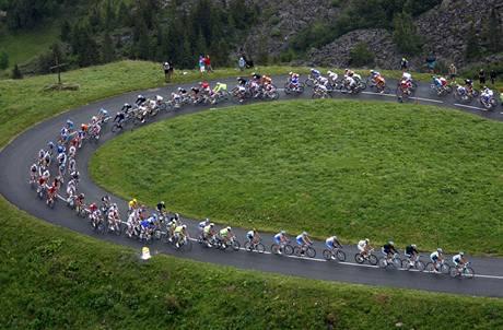 Cyklisté na Tour de France
