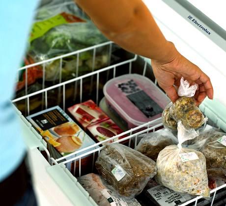 Uložené potraviny je třeba pečlivě popsat