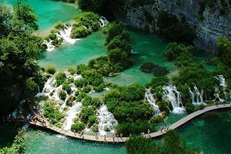 Chorvatsko, Plitvická jezera