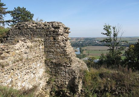 Zřícenina hradu Cvilín
