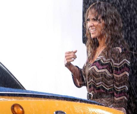 Z natáčení filmu Back-Up Plan - Jennifer Lopezová