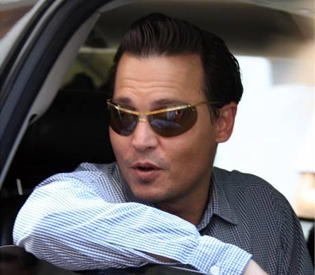 Z natáčení filmu Rum Diary - Johnny Depp