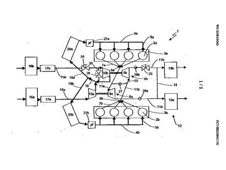 Patent Ferrari na uspořádání turbodmychadel