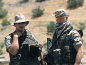 Němečtí vojáci v Afghánistánu.