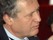 Velvyslanec Jan Koukal při volbě prezidenta republiky na Pražském hradě (9. února 2008)