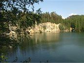 pískovna v Adršpachu