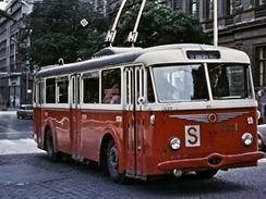 Historické trolejbusy v Brně - trolejbus 7Tr 3031