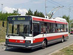 Historické trolejbusy v Brně - 21Tr 3001