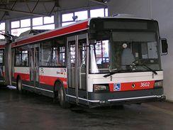 Historické trolejbusy v Brně - 26Tr 3602