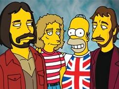 Homer se skupinou The Who