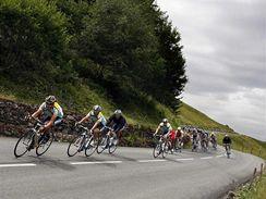 Sjezd cyklistů na Tour de France