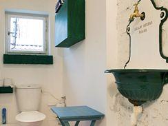 WC v retro stylu