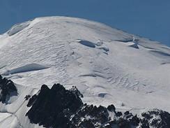 Mont Blanc (4 810m) z Aiguille du Midi