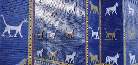 Replika babylonské Ištařiny brány v Iráku