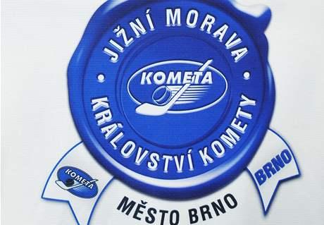 Nové logo klubu Kometa Brno