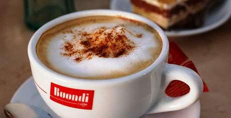 Cappuccino v lednické Cafeterii