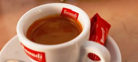 Espresso v lednické Cafeterii