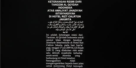 K zodpovědnosti za útoky v Jakartě se přihlásila skupina Mohameda Noordina Topa.