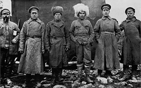Fotografie z 1. světové války jsou k vidění na výstavě na Pražském hradě.