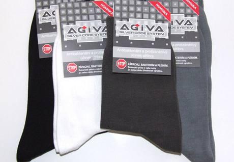 Ponožky se stříbrnými vlákny