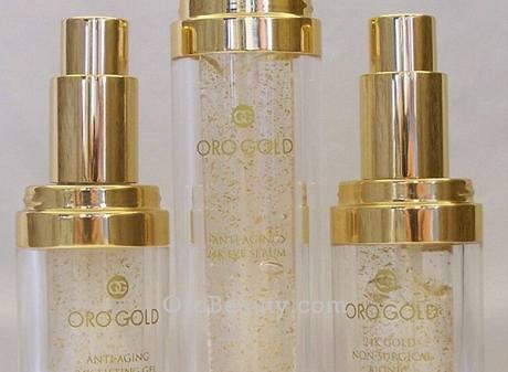 Zlato v kosmetice