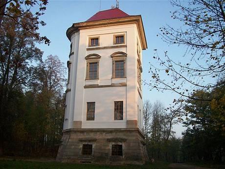 Torzo zámku Rudoltice u Lanškrouna