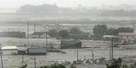 Tajfun Morakot zasáhl Tchaj-wan (8. srpna 2009)