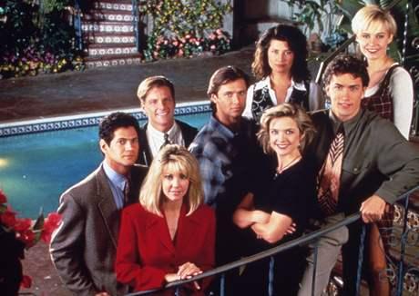 Plakát k původnímu seriálu Melrose Place