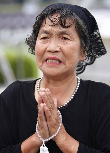 Japonsko si připomnělo výročí svržení atomové bomby na Hirošimu (6. srpna 2009)