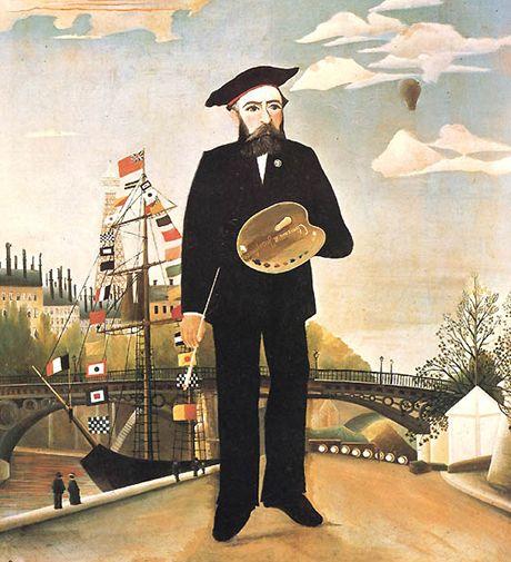 Autoportrét Henriho Rousseaua
