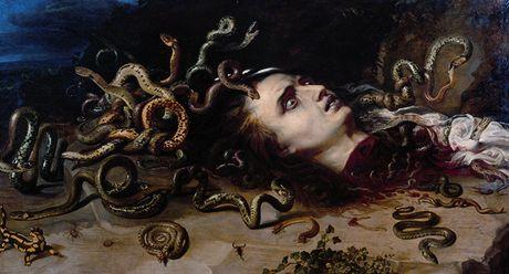 Peter Paul Rubens - Hlava Medúzy