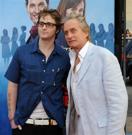 Cameron Douglas a Michael Douglas