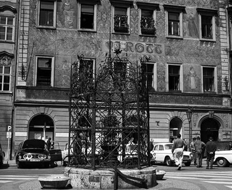 Tak vypadal dům U Rotta v roce 1973